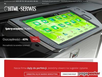 HTML-SERWIS Twój partner IT