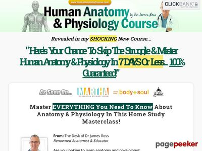 ø The #1 Human Anatomy and Physiology Course ø - Learn About The Human Body With Illustrations and Pictures ø