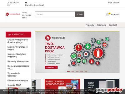 Www.Hydronetka.pl Zabezpieczenia Przeciwpożarowe