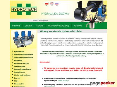 Hydrotech hydraulika siłowa