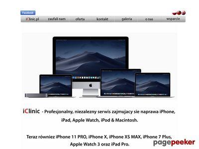 IClinic - iPhone, iPod&Mac - serwis i naprawa