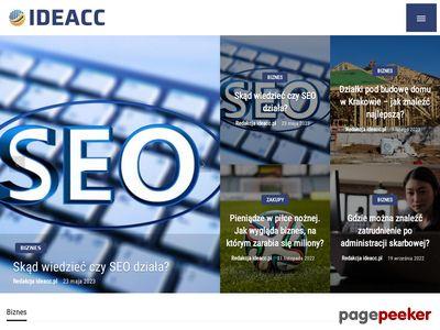 Obsługa klientów - ideacc.pl