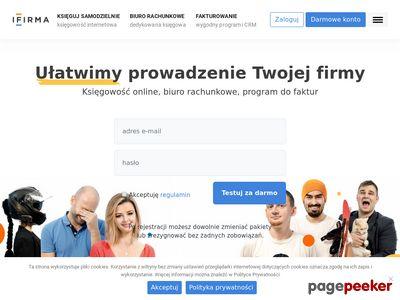 Mała księgowość internetowa - ifirma.pl