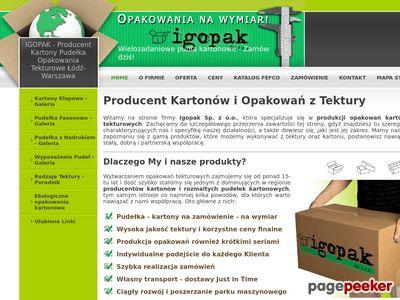 Produkcja pudełek kartonowych