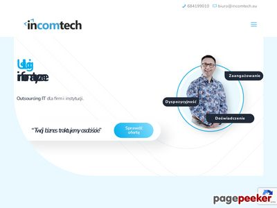 Incomtech - informatycy | Outsourcing IT