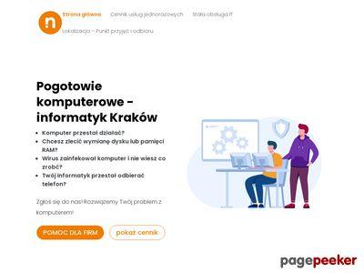 Fachowy serwis komputerowy w mieście Kraków