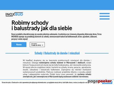 Inoxbud Warszawa balustrady nierdzewne