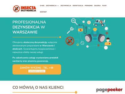 Deratyzacja Warszawa