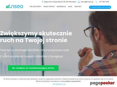 SEO optymalizacja stron z INSEO we Wrocławiu