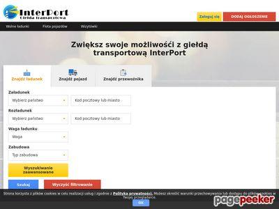 Giełda transportowa - InterPort.pl