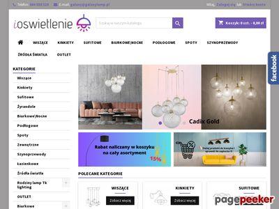 Sklep z oświetleniem online: lampy, kinkiety | www.ioswietlenie.pl