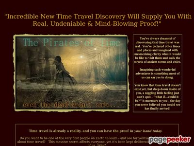 The Pirates of Time – The Pirates of Time Presentation Purchase Page
