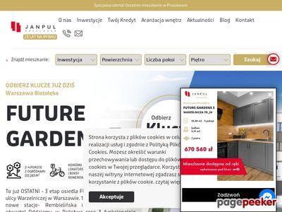 Nowe mieszkania Warszawa - deweloper Janpul