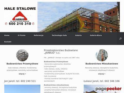 Hale stalowe Jarbud Gdańsk