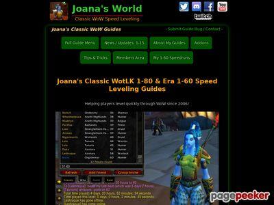Joana's 85-90 Mists of Pandaria (1-90) Leveling Guide