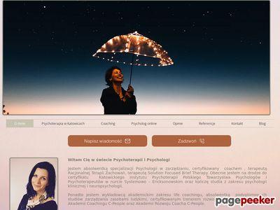 Psychoterapeuta Katowice - Joanna Muszak