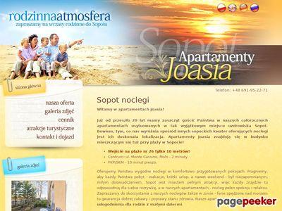 Sopot noclegi, pokoje w Apartamentach Joasia