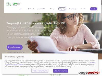 Łączenie JPK i kontrola - program JPK