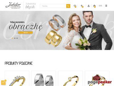 Obrączki z brylantami oraz pierścionki z brylantami z białego złota tworzą delikatną biżuterię