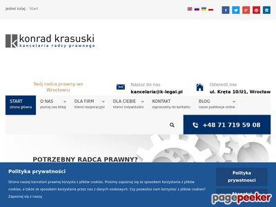 Kancelaria Prawna Wrocław – Krasuski i Wspólnicy