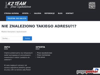 Usługi wysokościowe K2TEAM