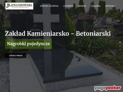 ZAKŁAD KAMIENIARSKO-BETONIARSKI ŁOMŻA pomniki łomża