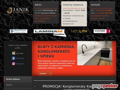 Kamieniarstwo Szczecin - Stanisław Janik