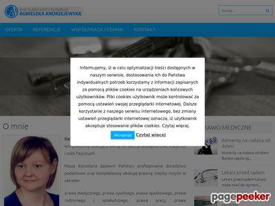Adwokat Andrzejewska
