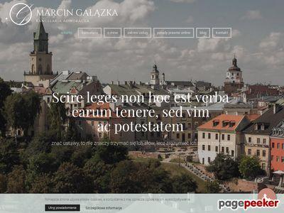 Kancelaria Adwokacka Adwokat Marcin Gałązka