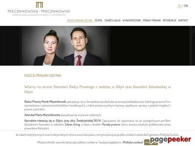 Adwokat i Radca Prawny Gdynia