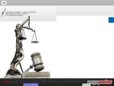 PLISECKA-WAJDZIAK, KIECZKA adwokat szczecin