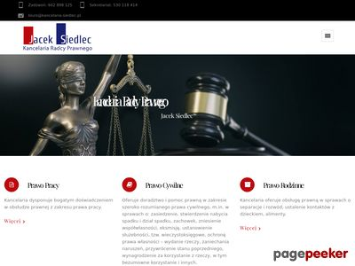 Kancelaria Radcy Prawnego Jacek Siedlec