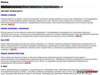 Porady prawne - kancelaria-sowa.pl