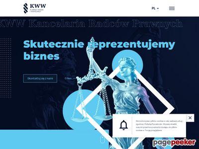 Kancelaria prawna Łódź – obsługa prawna firm i radcowie prawni – KWW.