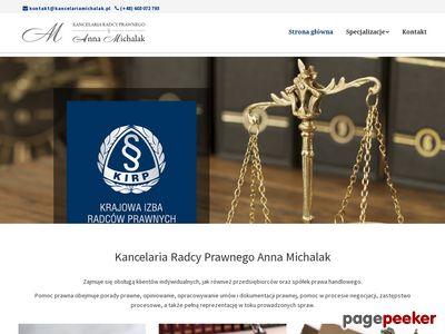 Kancelaria Michalak - dobry prawnik z Lublina