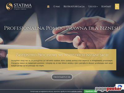 """Kancelaria Radców Prawnych """"Statima"""""""