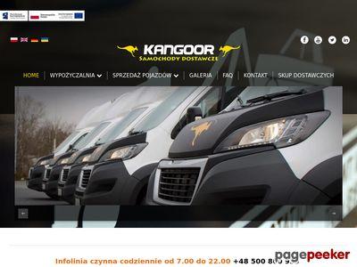 Wynajem samochodów dostawczych Łódź
