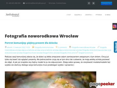 Fotografia noworodkowa KarolinaKrupa.pl