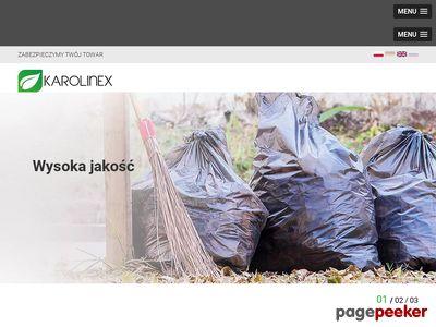 Karolinex-worki.pl - wkłady foliowe do pudeł
