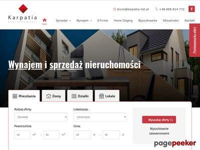 Karpatia.net.pl - biuro nieruchomości Rzeszów
