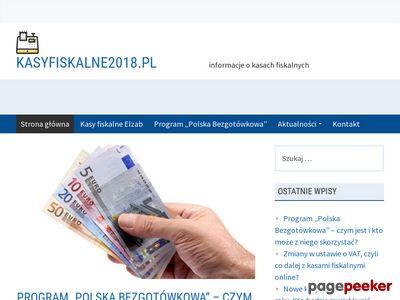 Kasa fiskalna 2018 - kasyfiskalne2018.pl