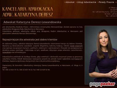 Porady prawne Warszawa Śródmieście