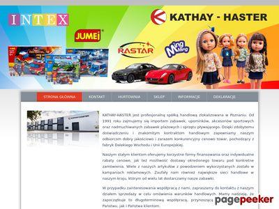KATHAY-HASTER M. W. BRZOSTOWSCY zabawki importer