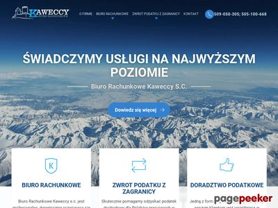 Kaweccy -Kancelaria Podatkowa Będzin, Sosnowiec, Dąbrowa Górnicza