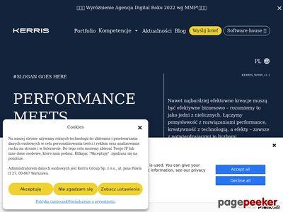 Kerris tworzenie stron WWW Warszawa