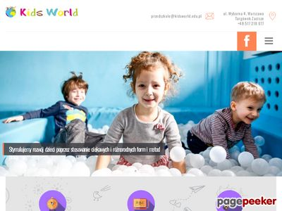 Przedszkole w Warszawie - KidsWorld