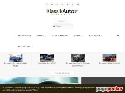 Klassikauto.pl – oldtimery, zabytkowe samochody.