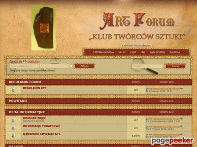 Klub Twórców Sztuki - Forum