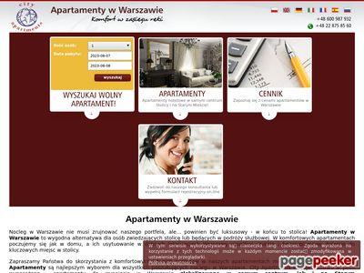 Apartamenty w Warszawie - klubturysty.pl