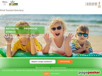 Kolonie Czaplinek - www.kogis.pl